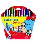Estuche 12 Super Rotuladores para niños Giotto be-bè