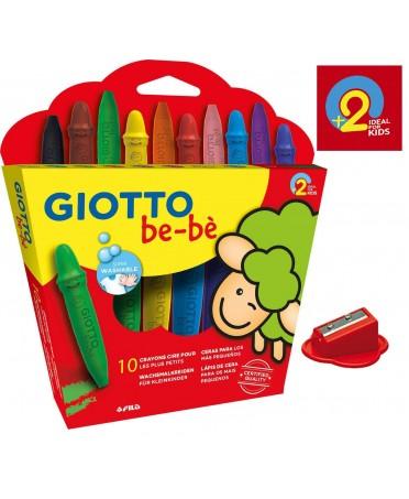 Estuche 10 Súper Ceras para niños Giotto be-bè