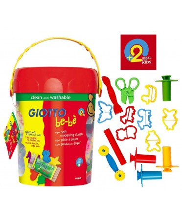 Set Accesorios Super Pasta para niños Giotto be-bè