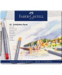 Estuche metal 48 lápices colores GOLDFABER acuarelables Faber-Castell