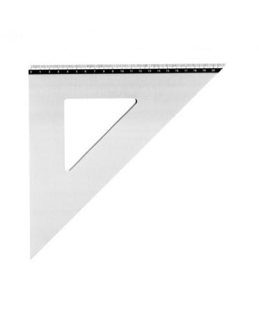 Escuadra Metalica Aluminio Artist 29 cm